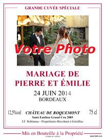 Etiquettes De Vin Personnalisees Etiquettes De Vin Mariage
